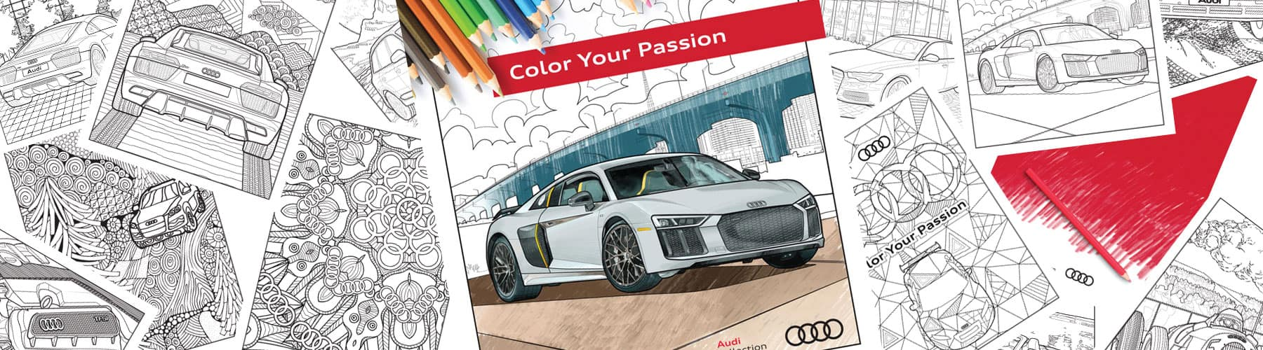 Download The Audi Colouring Book