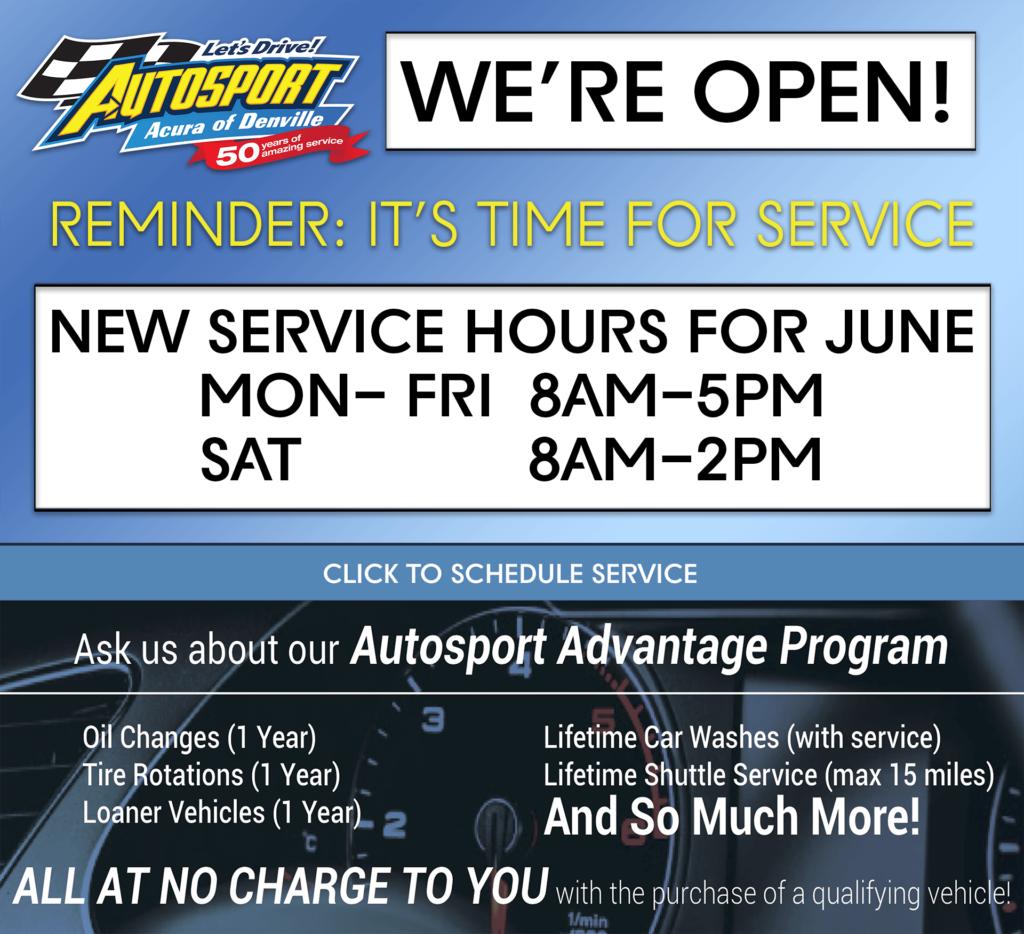 Service Center Info