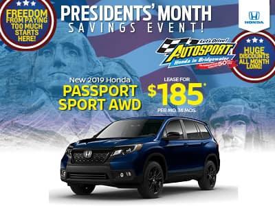 2019 Honda Passport Sport AWD
