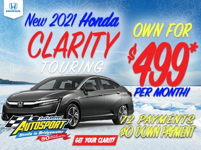 2021 Honda Clarity Touring
