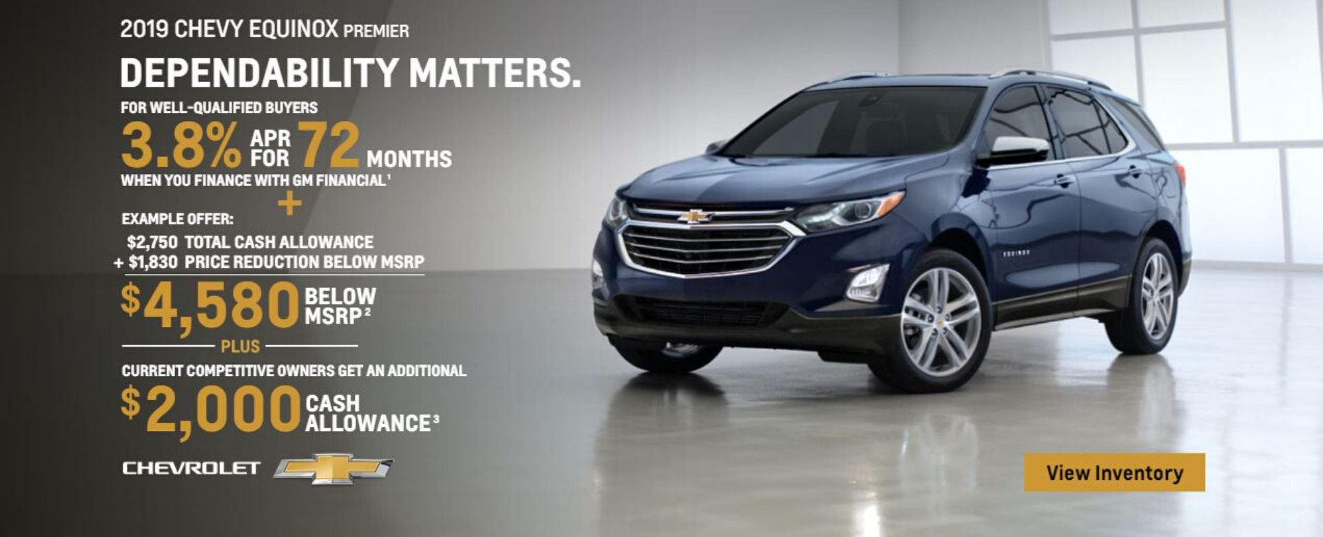 Up to $6000 off Chevrolet Equinox at Bellamy Strickland in McDonough