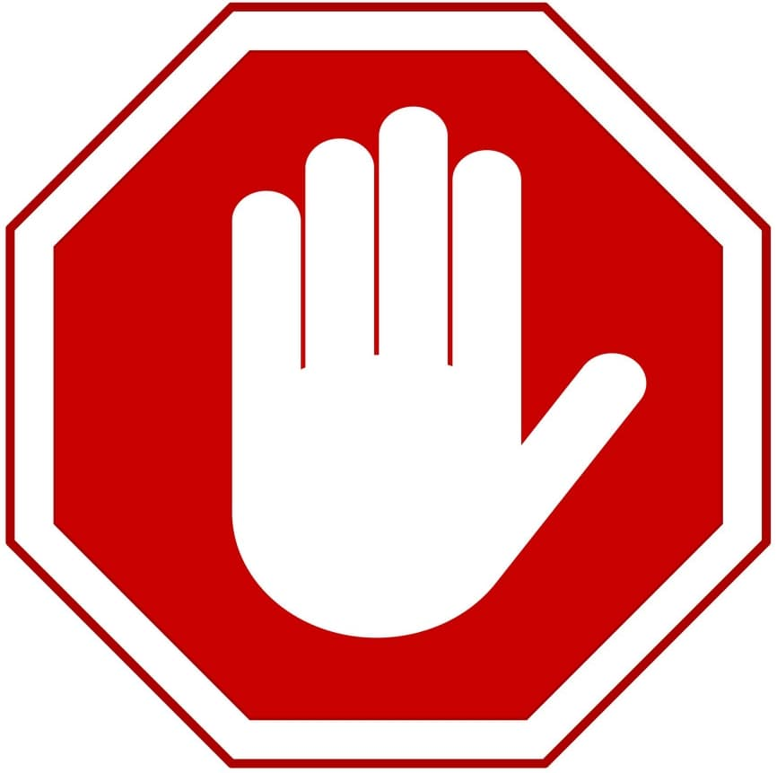 Hand Signal Stop