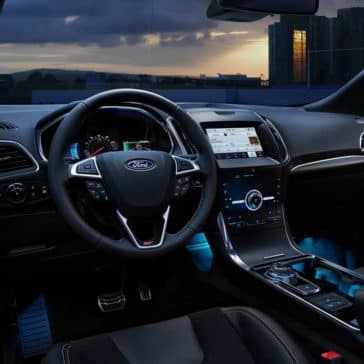 2020 Ford Edge Dash