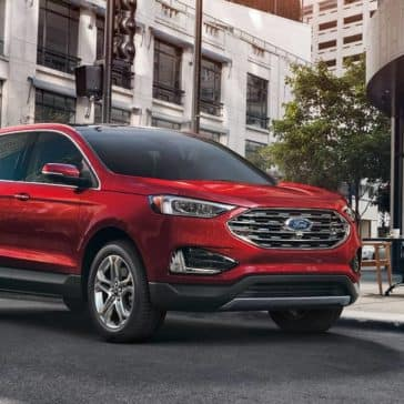 2020 Ford Edge Parked