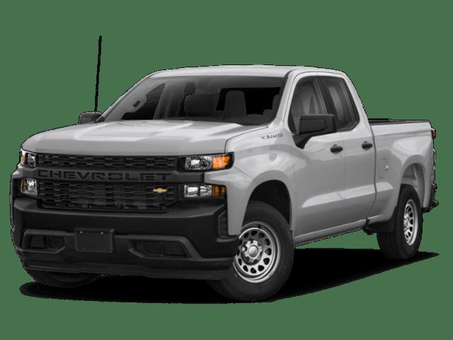 2020 Chevrolet Silverado 1500 in silver
