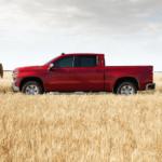 2020 Chevrolet Silverado exterior parked in field