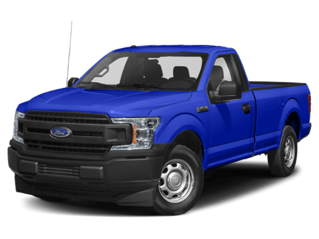 2020 Ford F-150 in blue