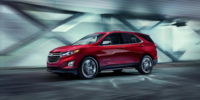 2020 Red Chevy Equinox