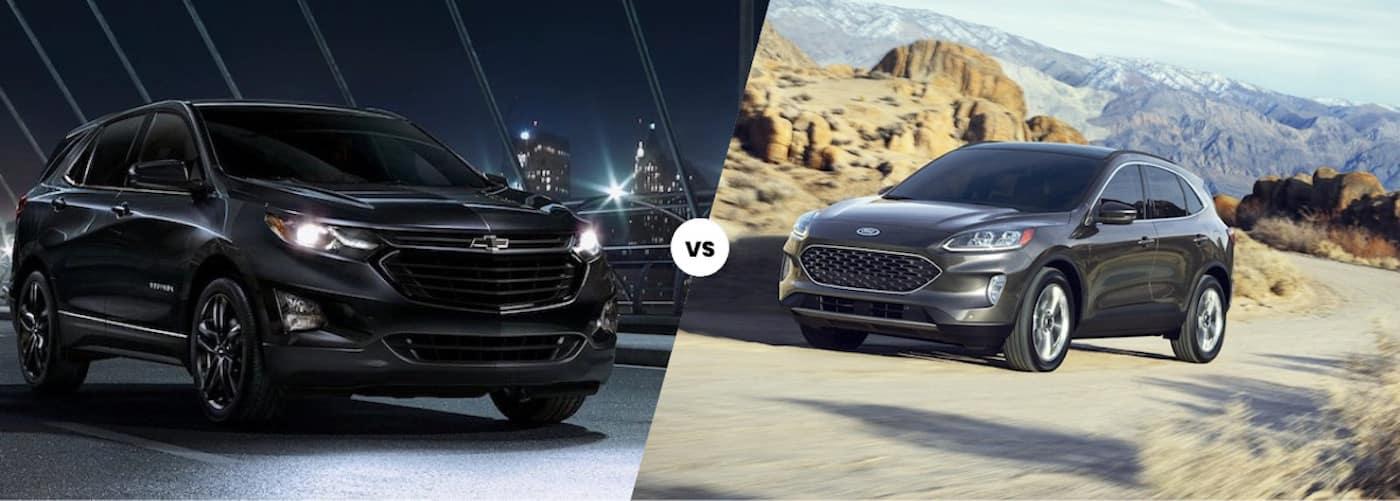 2020 Chevy Equinox vs. 2020 Ford Escape