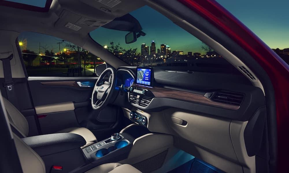 2020 Ford Escape Front Interior