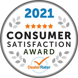 2021 Customer Satisfaction Award