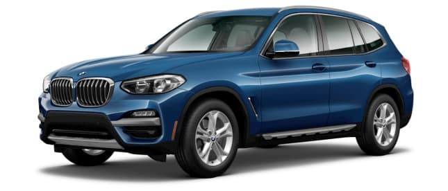 2020 BMW X3 sDrive30i Lease Special