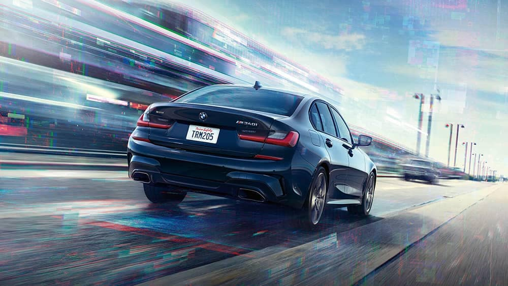 2020 BMW 3 Series Rear