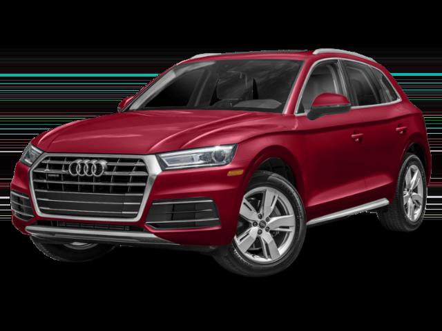 red Audi Q5