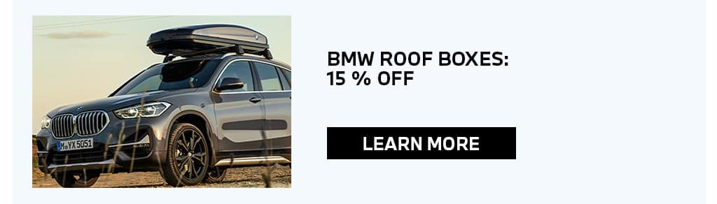 View BMW Roof Boxes 15% Off Special