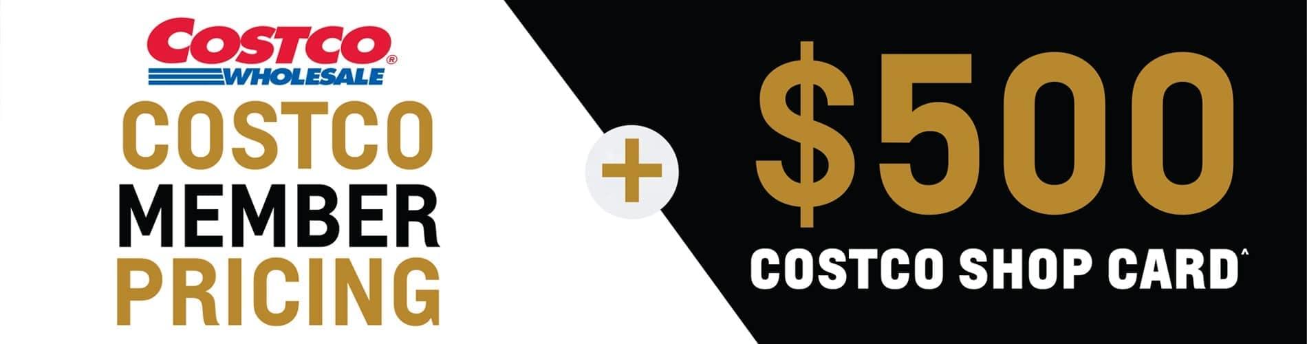 Costco Eligible Vehicles