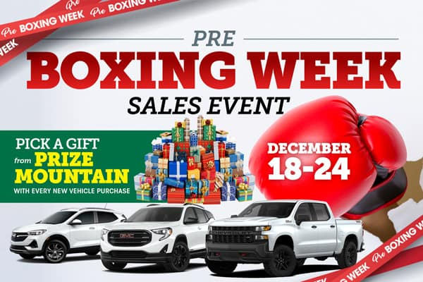 Pre-Boxing Week Event