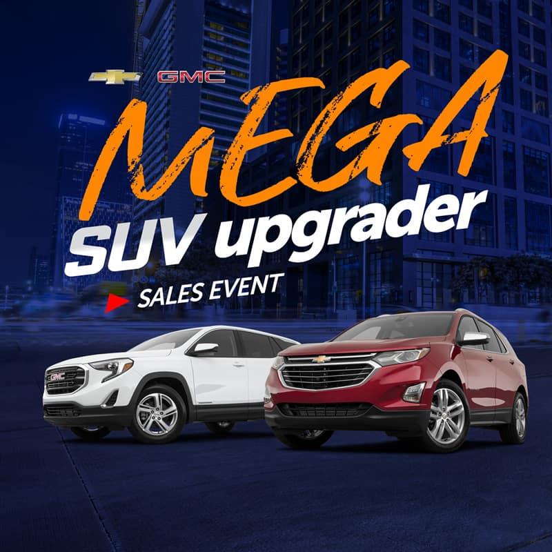 Mega SUV Upgrader Sales Event