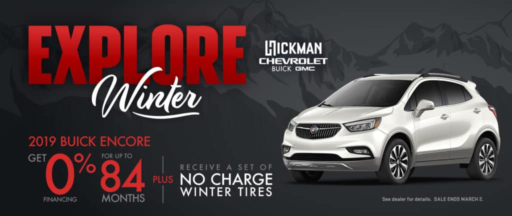 2019 Buick Encore Offer