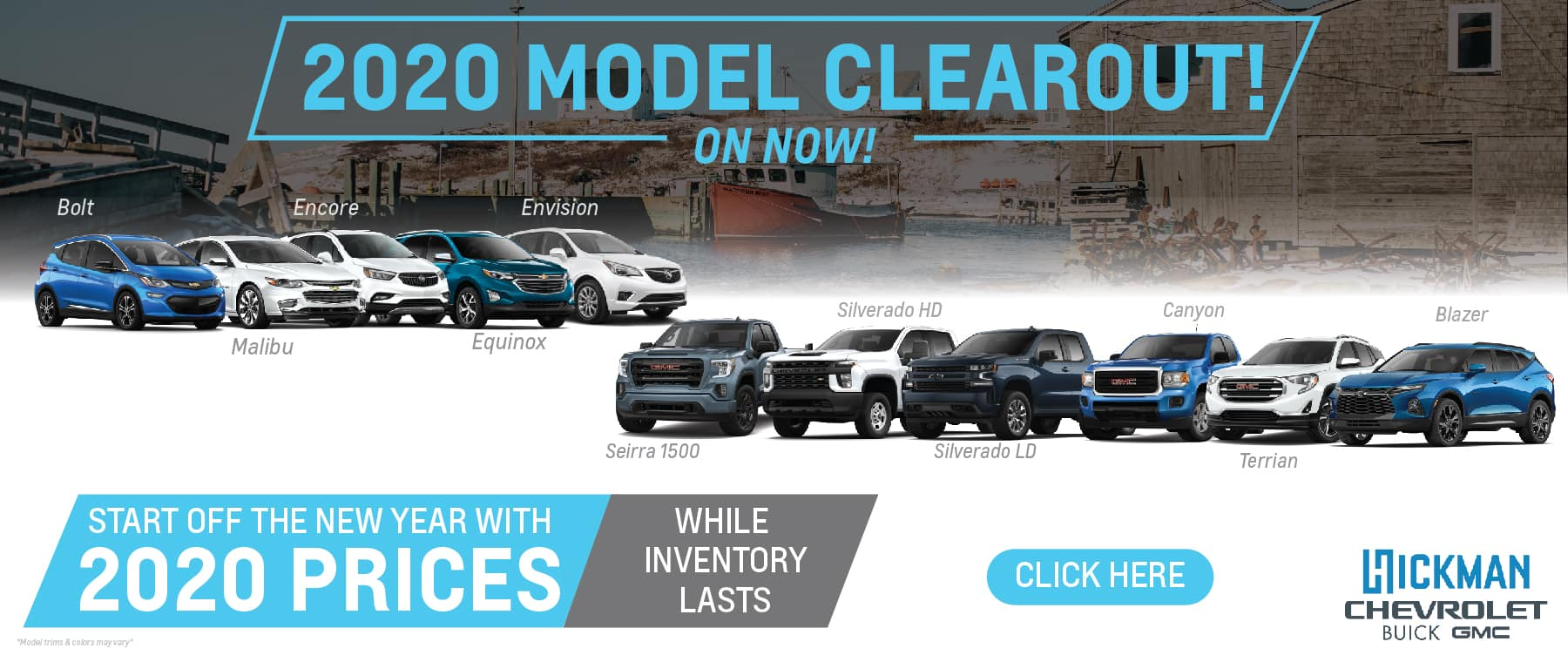 2020 Model Clear Out – Chevrolet Buick GMC – Website Desktop-01
