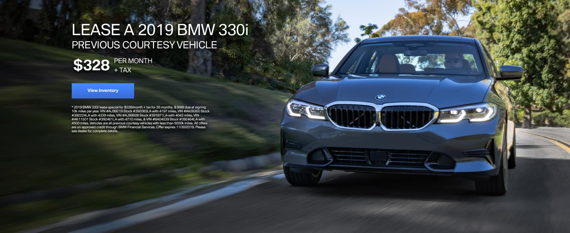 BMW Offers Lease Special Crevier