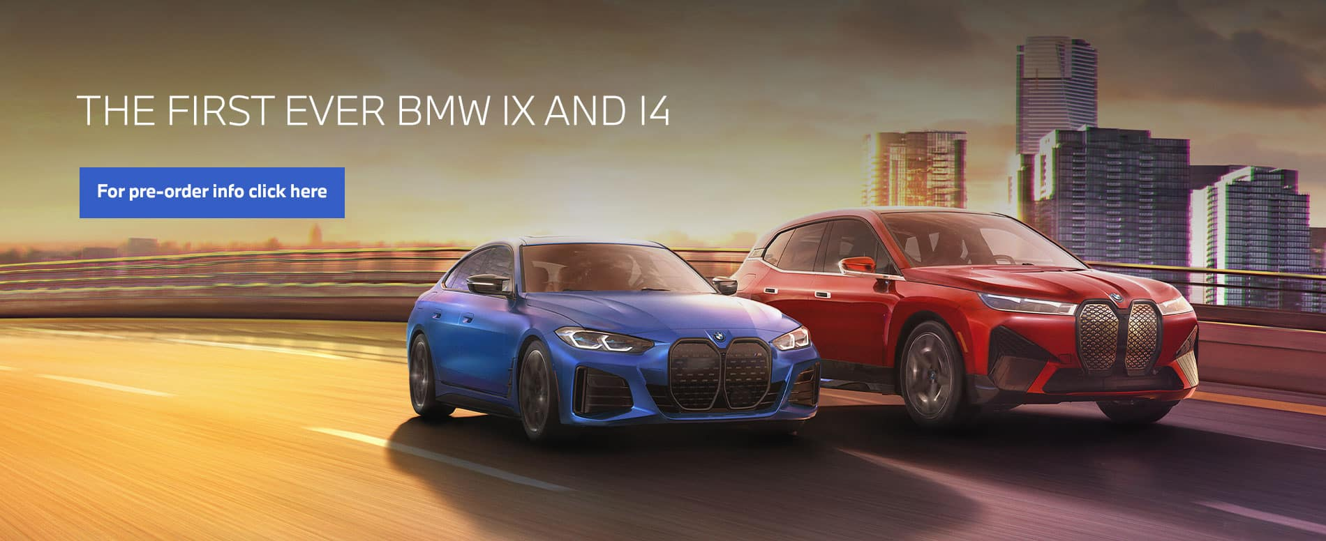 The first ever BMW iX and i4