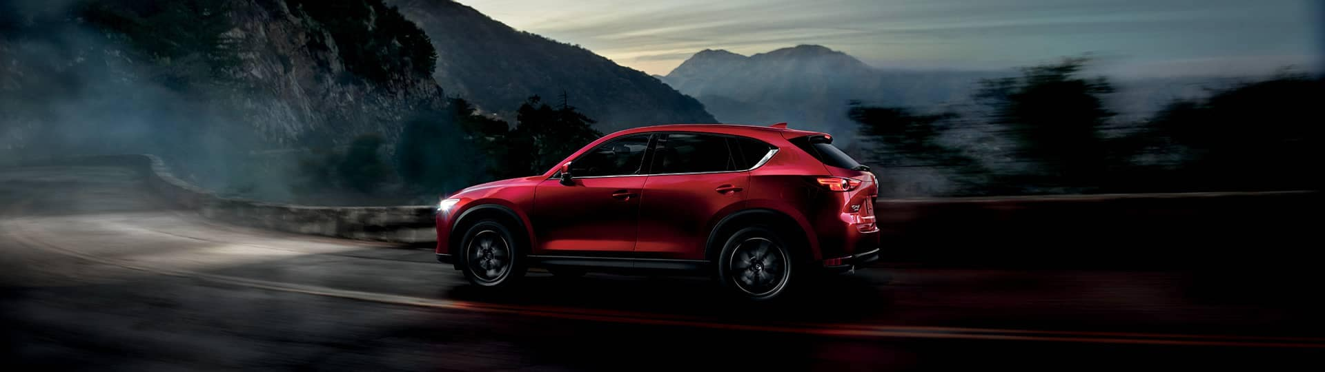 2018 Mazda CX5 Canada Night Driving