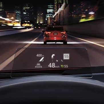 2018 Mazda3 driver view