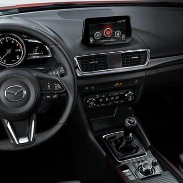 2018 Mazda3 front interior