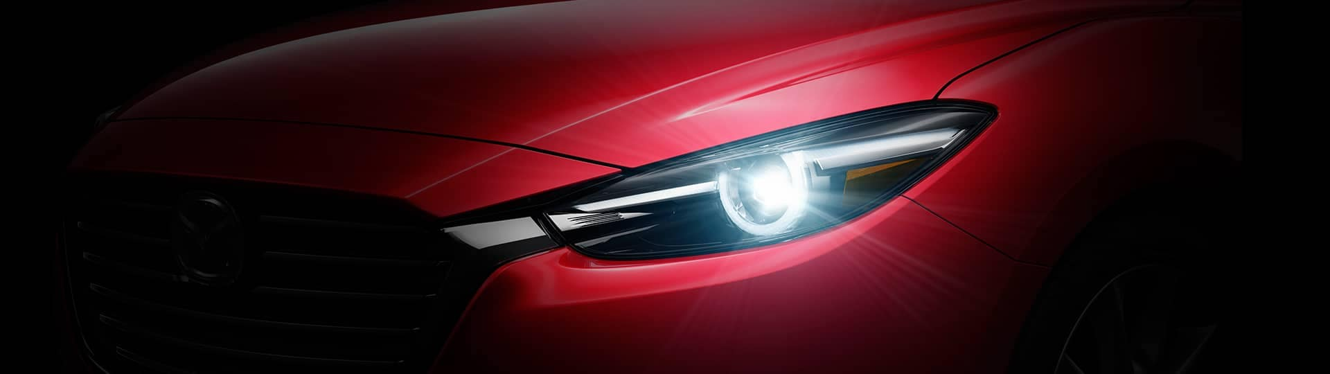 2018 Mazda3 headlight