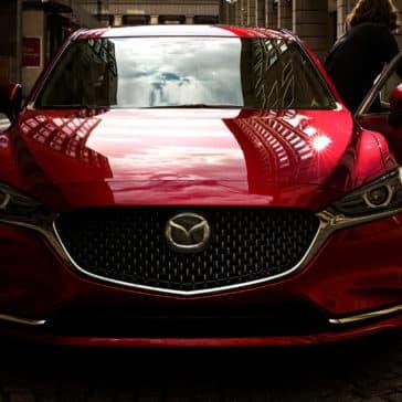 2018 Mazda6 driver exiting