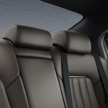 2018 Mazda6 back seating
