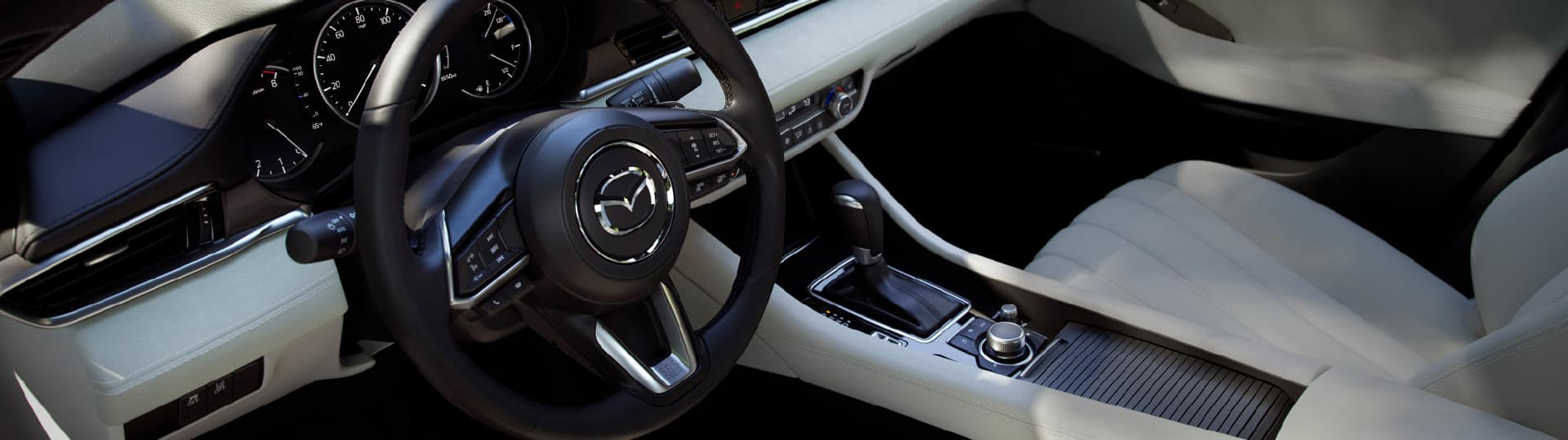 2018 Mazda6 front interior