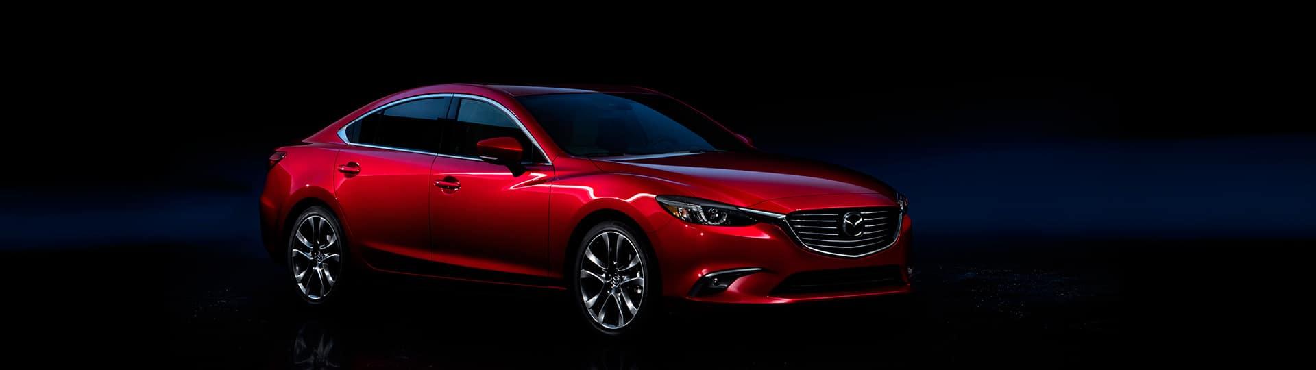 2018 Mazda6 red