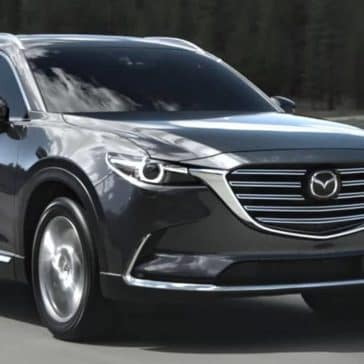 2019 Mazda CX-9 on highway