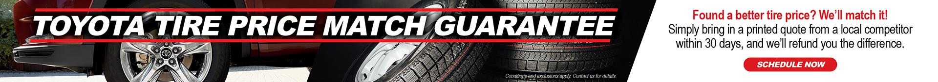Tire Center Price Match