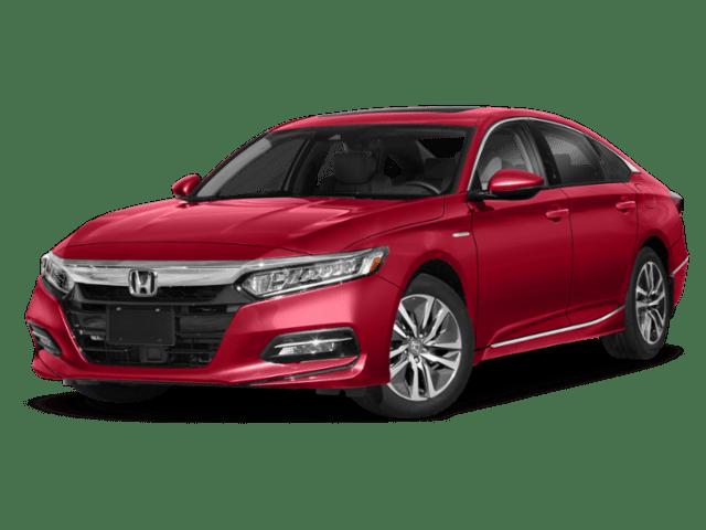 2019 Honda Accord in red