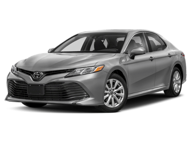 2020 Toyota Camry in silver