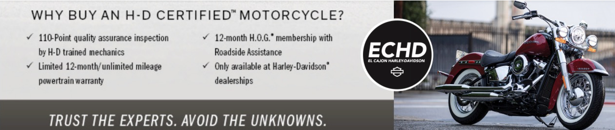 H-D Certified: Trust The Experts