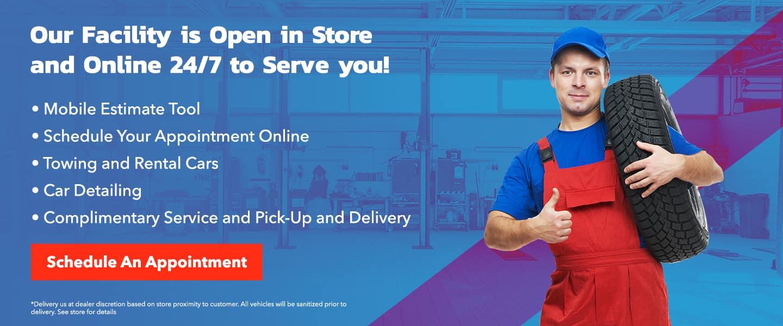 Open 24/7 Online