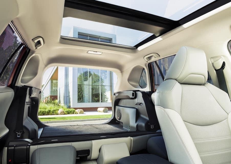 Toyota RAV4 Hybrid Storage