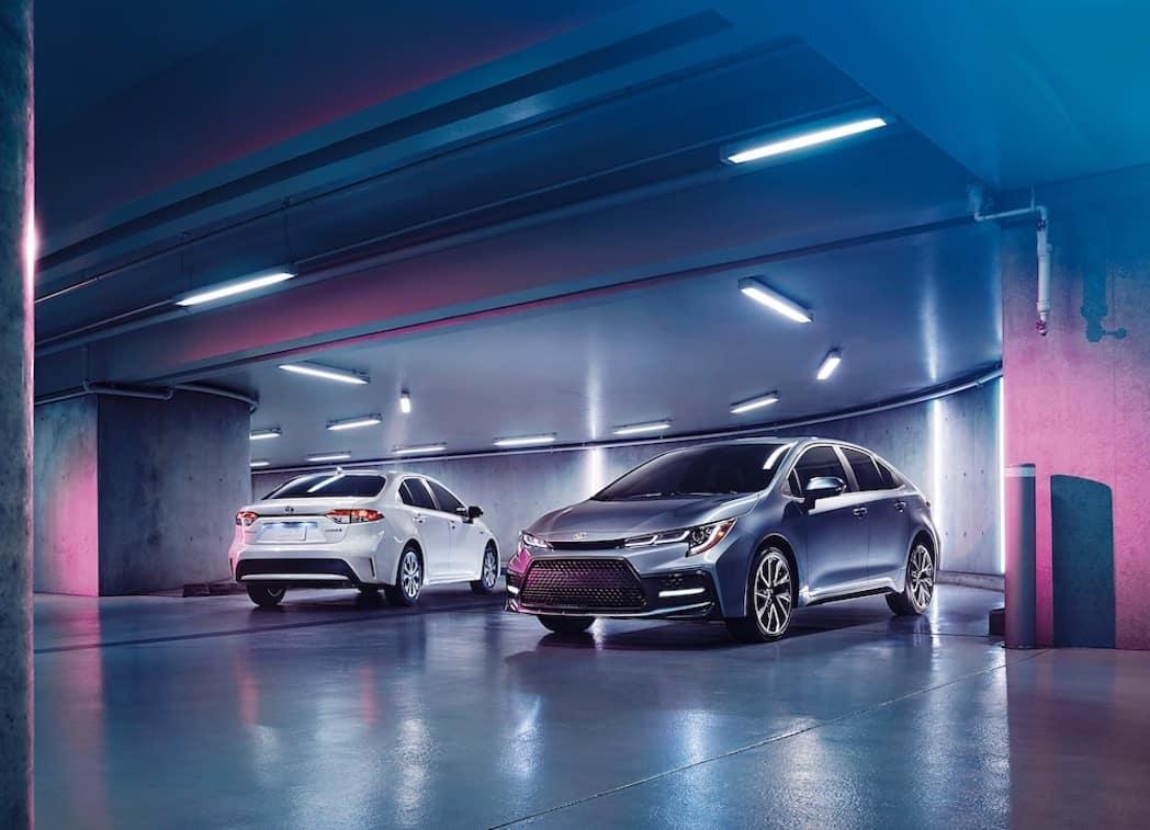 2020 Toyota Corolla at Toyota Dealer near Glenside PA