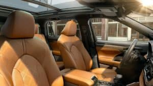 2020 Toyota Highlander Interior Dimensions
