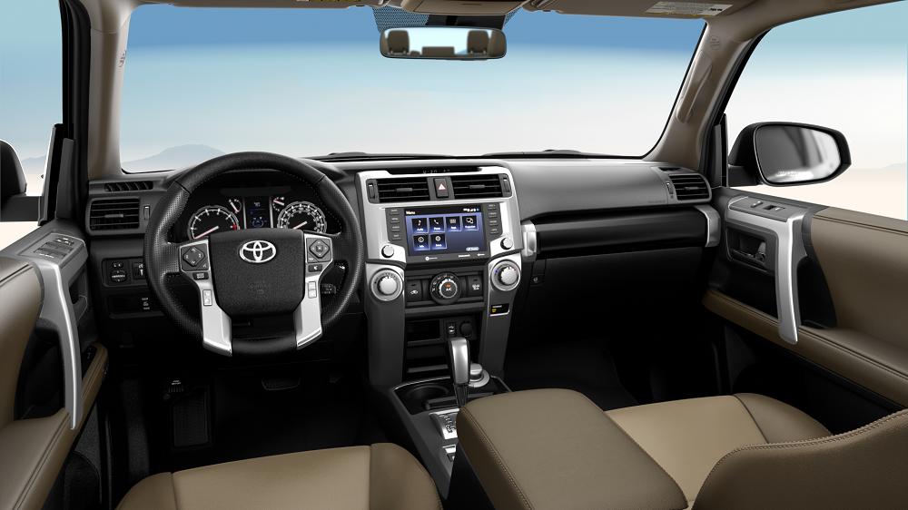 2020 Toyota 4Runner Interior Technology