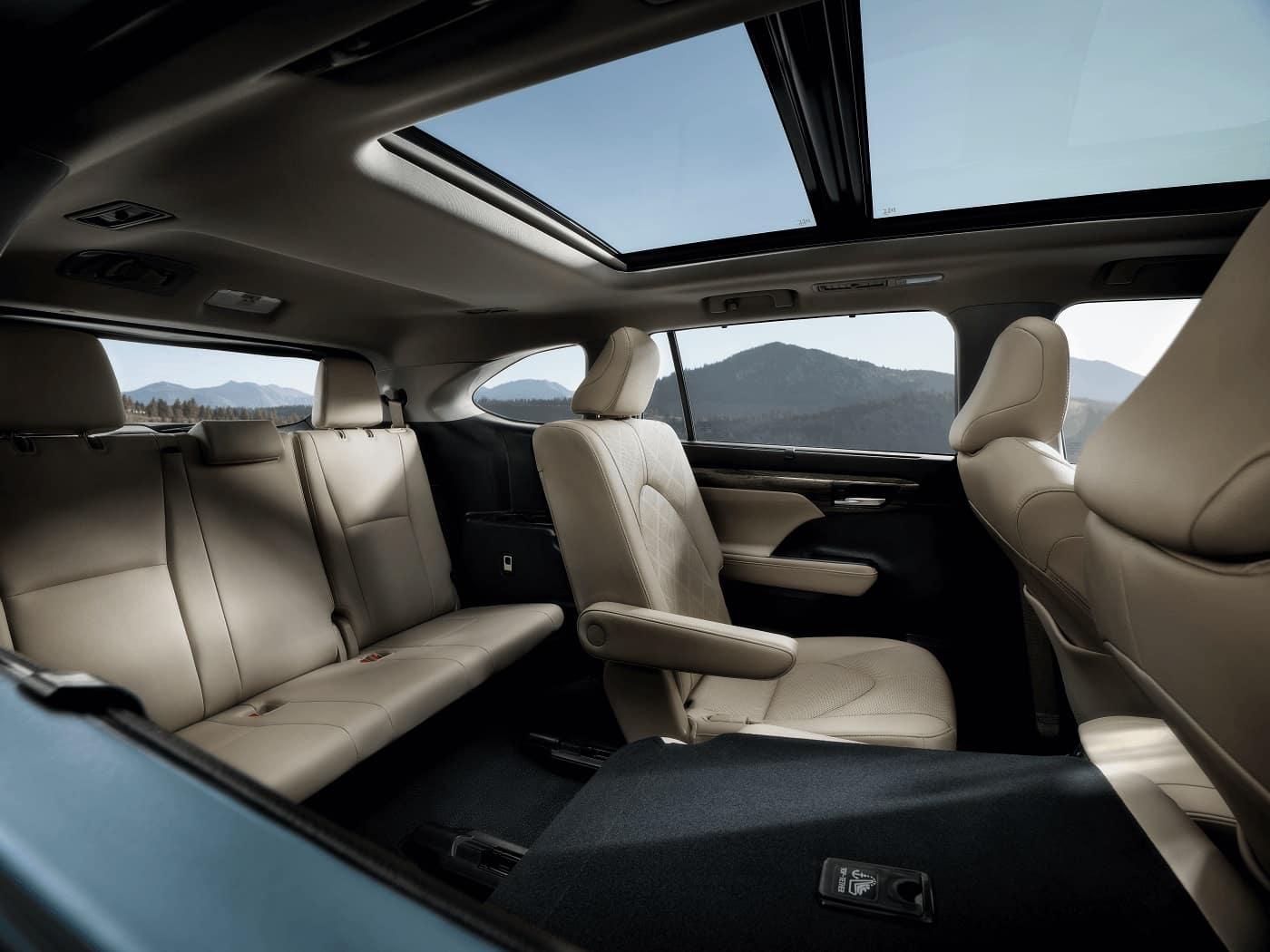 Toyota Highlander Interior Cabin