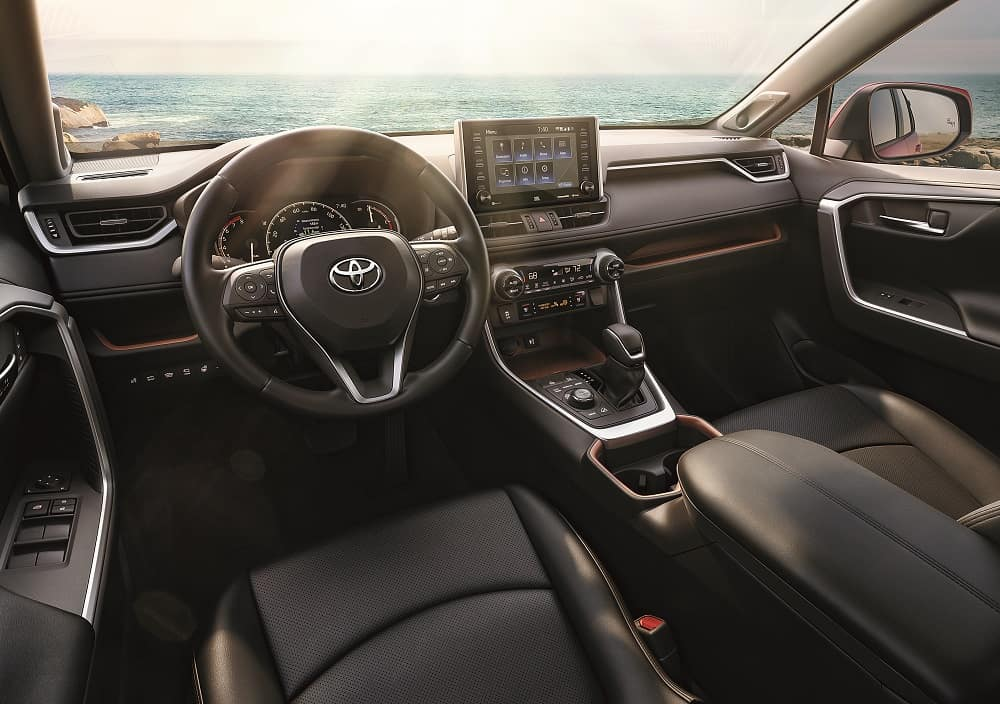 2020 Toyota RAV4 Interior Tech