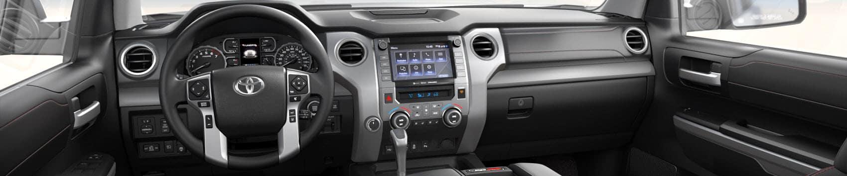 2020 Toyota Tundra Interior Technology