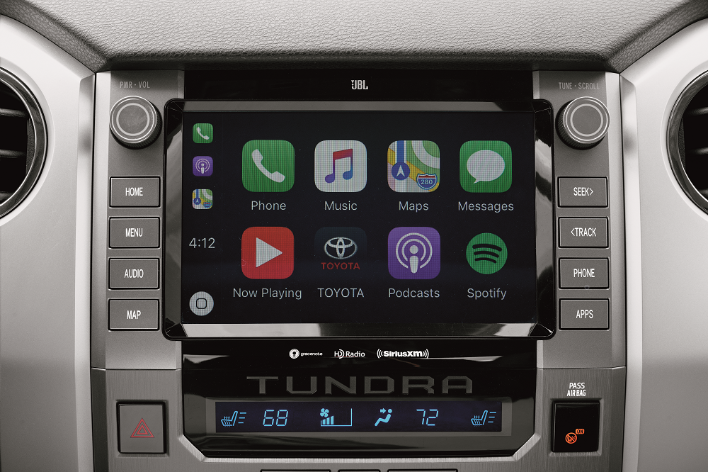2020 Toyota Tundra Interior Tech