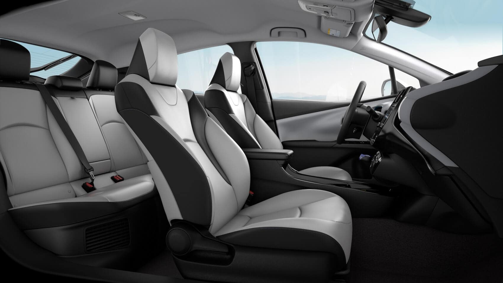 Toyota Prius Interior Features and Dimensions
