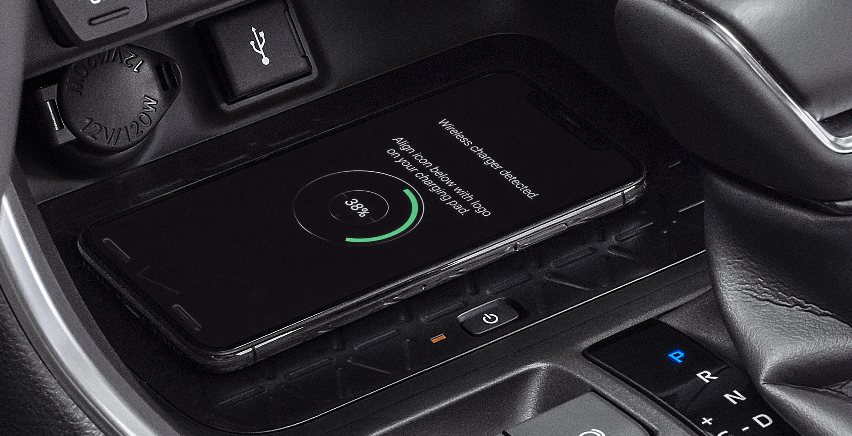 2021 Toyota RAV4 Interior Qi-Compatible Wireless Charging